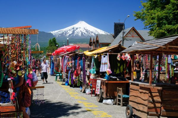 Market Pucon Chile Immigration